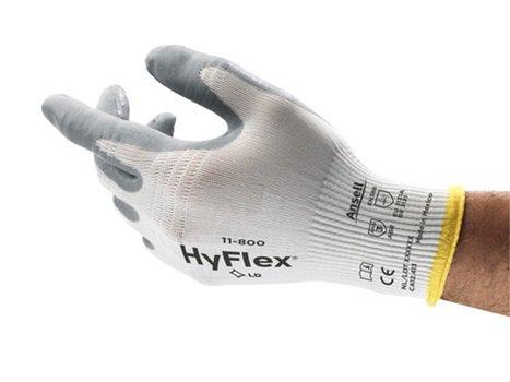 GUANTES ANSELL HYFLEX® 11-800 / 801 RECUBIERTOS DE ESPUMA DE NITRILO