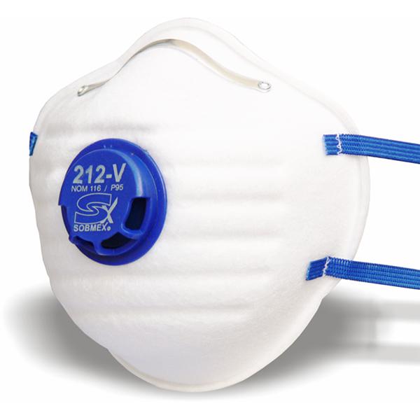 Respirador sobmex 212-v p95